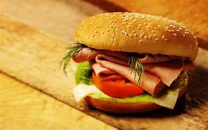 Hamburger Wallpapers Burger Sandwich Cheese Designs Background