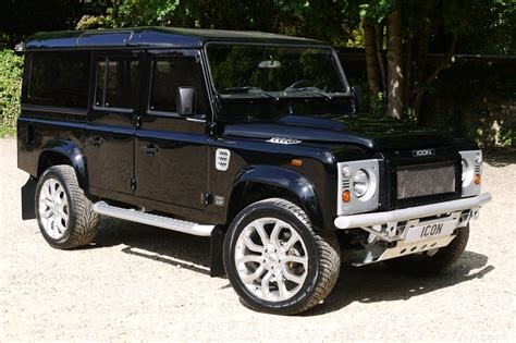 icon land rover land rover defender icon county station wagons built to