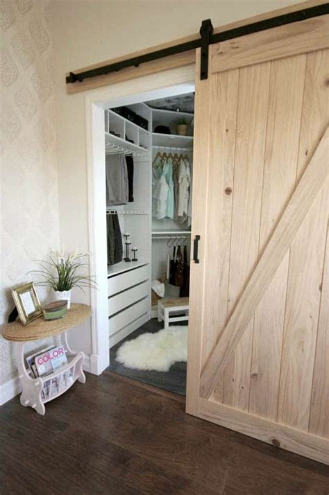 Installing A Sliding Barn Door In The Home  Love Create