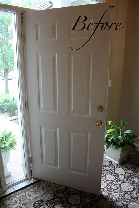 Door Makeover by And Easy Front Door Makeover The Family Ceo