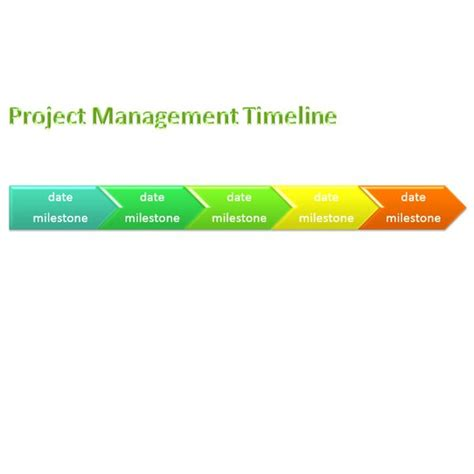 sample project management timeline templates  microsoft