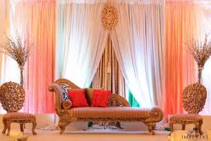 Simple Mehndi Stage Decoration by Blog Imperial Decor