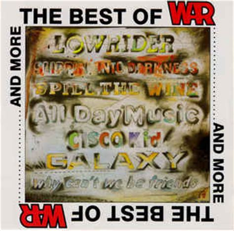 Best Of Wars War The Best Of War And More Cd Compilation Discogs