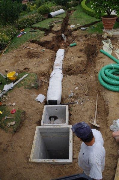 drenaggio terreno giardino sistemi di drenaggio terreno per frane fondazioni strade