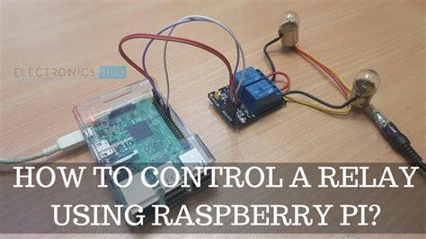 control  relay  raspberry pi electronics hub