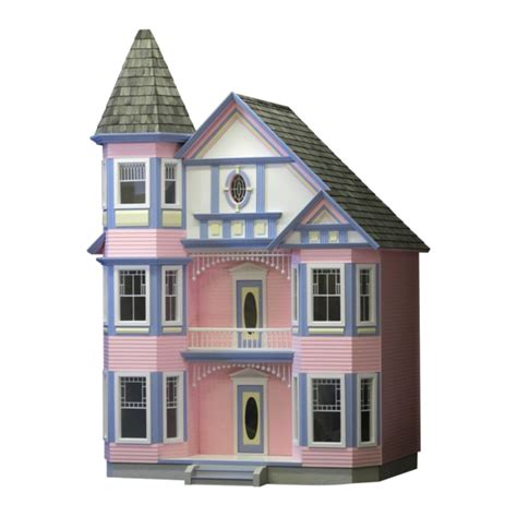 painted lady dollhouse kit real good toys