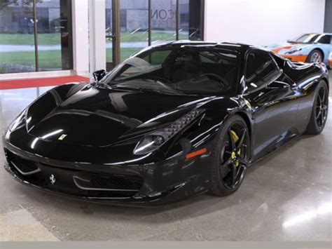 purchase   ferrari  italia  black