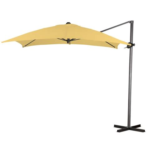 8 x 8 square cantilever umbrella by leisure select