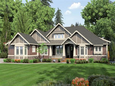 One Story House Styles One Story Ranch House Plans, Single