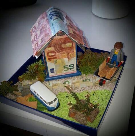 Geldgeschenk Zum Hausbau #money #geldgeschenke #hausbau