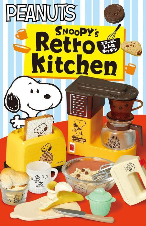 Snoopy Retro Kitchen Re Ment miniature blind box   Re Ment