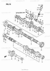 Suzuki Atv 1992 Oem Parts Diagram For Transmission 1
