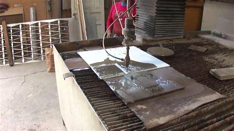 increible corte de porcelanato  agua youtube