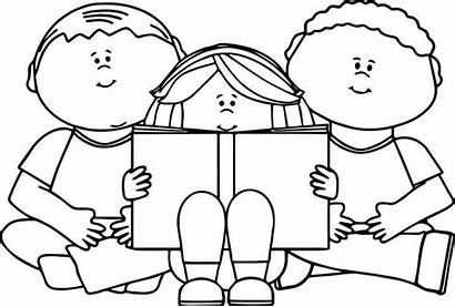 Reading Coloring Pages Books Bible Children Boys