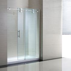 glass shower doors lowes shop ove decors sydney 56 in to 58 in w x 78 7 in h