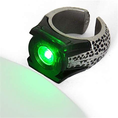 green lantern anneau bague lumineuse de al noble collection