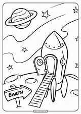 Coloring Solar System Printable Rocket Space Sheets Moon Eclipse Activities Exploring Science Surface Drawing Sistema Occupations Colouring Planets Preschool Doug sketch template