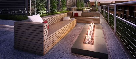 outdoor fire pit  roof outdoor furniture design