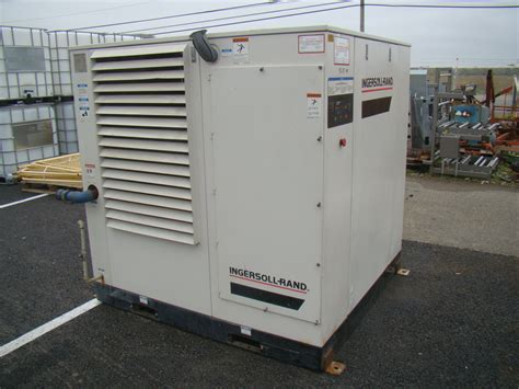 ingersoll rand air conditioner ingersoll rand 60hp rotary air compressor 275cfm 460v ssr xf60 ebay