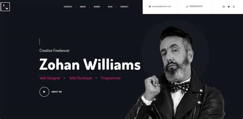 Make Resume Website by 35 Best Cv And Resume Themes 2019 Theme Junkie