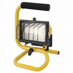 Arlec portable halogen worklight w bunnings warehouse