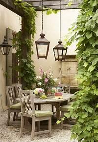 interesting french country patio decor ideas ديكور حديقة منزلك
