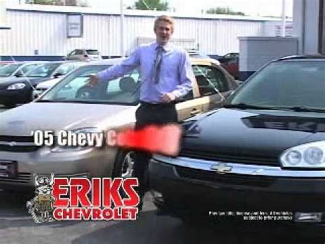 Count On Chevy National Sales Event At Eriks Chevrolet In