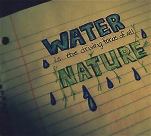 Environment Quo... Water Environment Quotes