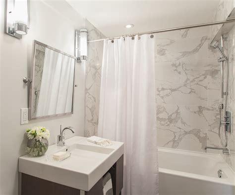 modern guest bathroom large shower tiles design ideas