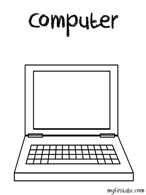 Coloring On Computer by 23 Computer Parts Coloring Pages Parts Coloring