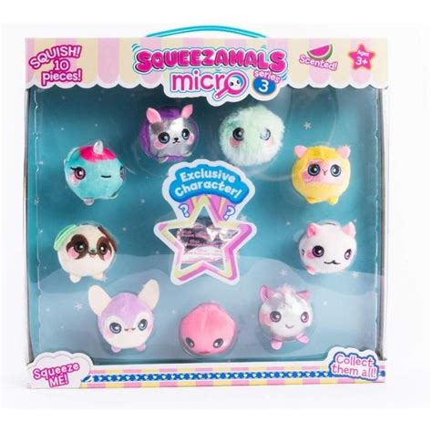 Try drive up, pick up, or same day delivery. Squeezamals Micro Series 3 Plush 10 Pack   GameStop