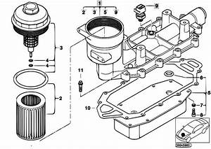 Original Parts For E65 740d M67 Sedan    Engine   Lubricat