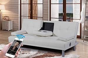 Sofa Mit Lautsprecher : 3 sitzer und andere sofas couches von sleep design online kaufen bei m bel garten ~ Indierocktalk.com Haus und Dekorationen