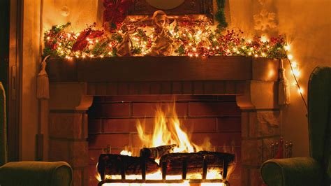 Animated Log Wallpaper - fireplace screensavers happy holidays
