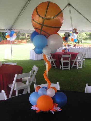 sports themed baby shower sports theme centerpiece