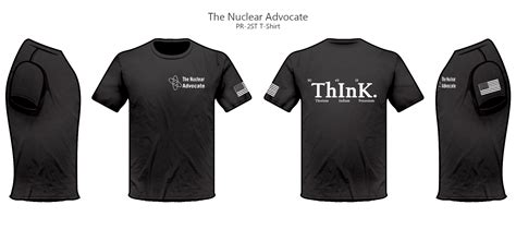 nuclear advocate  shirt  slogan  nuclear