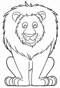 Free Coloring Pages Of Lion