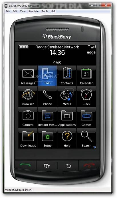 Simulator Blackberry Mobile Windows Screenshots