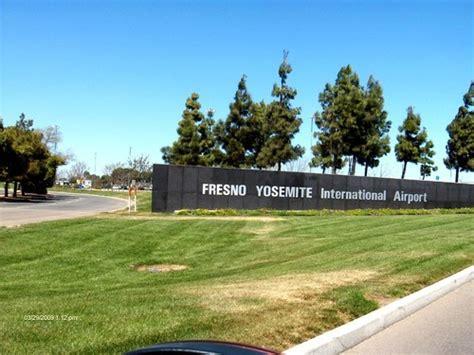 Fresno Yosemite Int Airport Signage