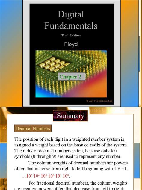 Digital Fundamentals: Floyd