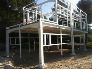 Maison Structure Métallique : steel home maison m tallique vaucluse eccm84 etudes ~ Melissatoandfro.com Idées de Décoration