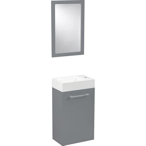 facade de cuisine brico depot meuble lave mains avec miroir gris galet n 3 sensea remix