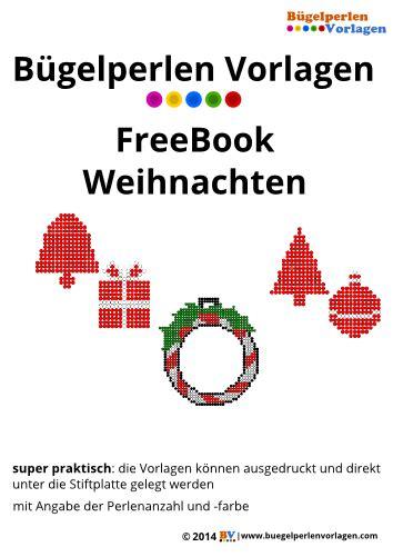 bügelperlen weihnachten vorlagen b 252 gelperlen vorlagen einem freebook f 252 r weihnachten