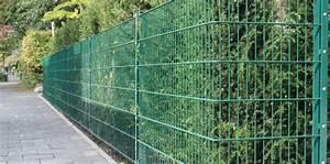 Garten Günstig Einzäunen : doppelstabmatten pfosten zaun gartenzaun24 tore ~ Michelbontemps.com Haus und Dekorationen
