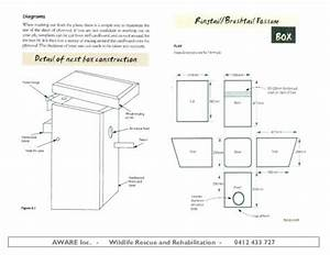 A Diagram Of How To Build The Nest Box  Chickenhouses In