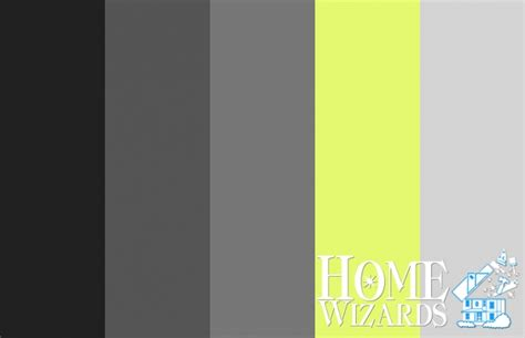 color palette rock  roll home wizards