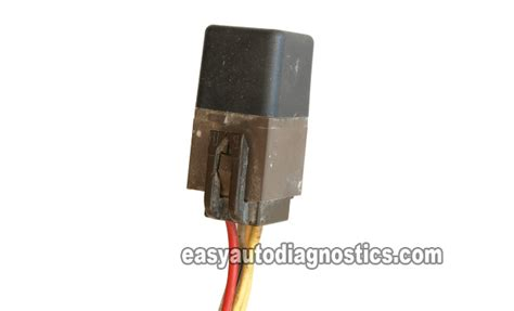 part  testing  ford eec power relay brown relay