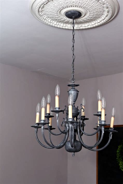 best 25 chandelier redo ideas on painted