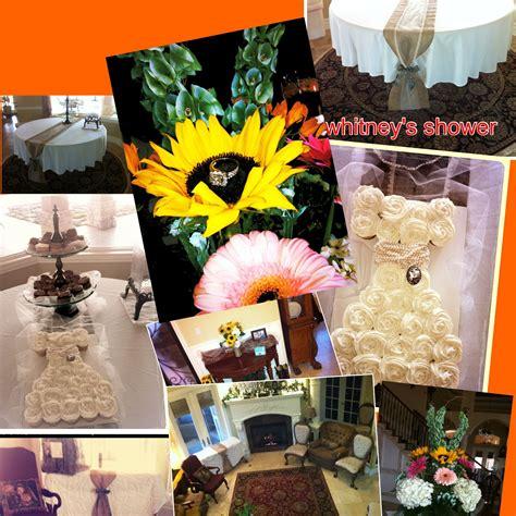Decorations From Whitneys Shabby Sheik Bridal Shower