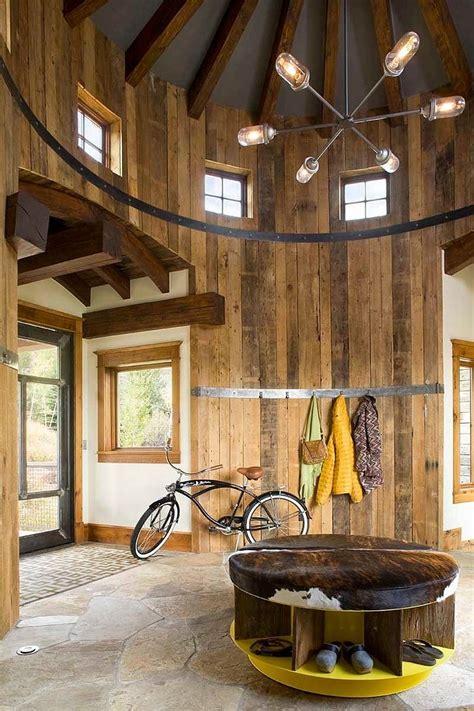 turret home  rustic interiors